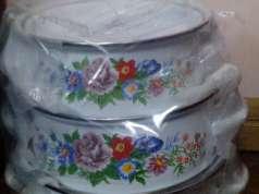 ollas bajillas en caja para regalar