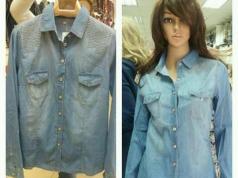 Camisas jeans de mujer