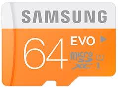 Micro SD Samsung Evo XC 64GB Ultra Rapidas Americanas