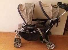 Carrito americano para bebé doble  (gemelos)