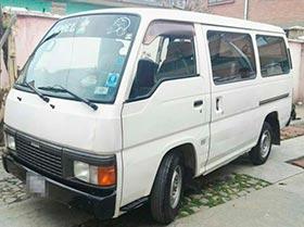 minibus NISSAN CARAVAN mod 96
