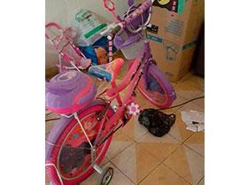 bicicleta para niña nuevita