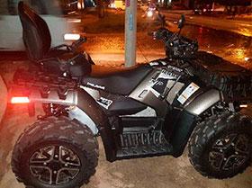 MOTO CUADRATRAC MARCA POLARIS 2015