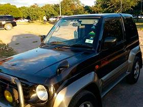 Jeep Mitsubishi Pajero Jrs.