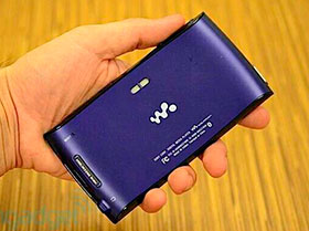 walkman sony con android!! mod. NWZ-Z1060