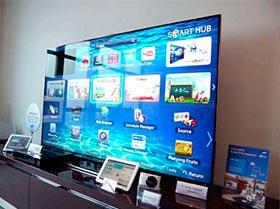 "Samsung Smart TV 75"""