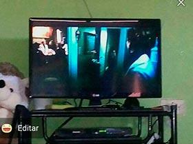TV LG de 24 pulgadas semi nueva
