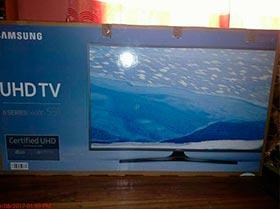 "televisor Samsung smartv de 55""  4K ULTRA HD nuevo"