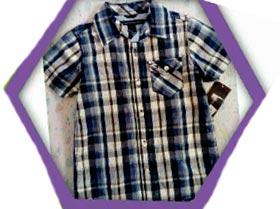 Camisa Manga Corta, 2T