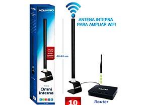Antena interna para ampliar wifi 10 dBi