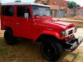 Jeep Toyota Land Cruiser