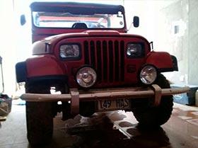 vendo o permuto jeep 1976