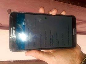 Galaxy note 3 H+ 32gb interna 3 de Ram solo esta clisado