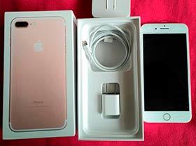 Iphone 7 plus 32 gb con r-sim12 incluida!
