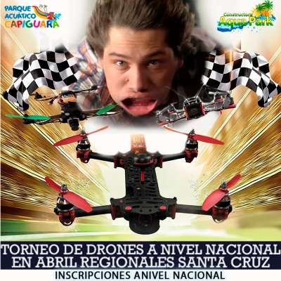 PRIMER TORNEO DE DRONES