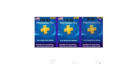 Tarjetas Para Play De Plus Y Psn