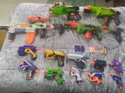 Subasto pistolas Nerf  Santa Cruz