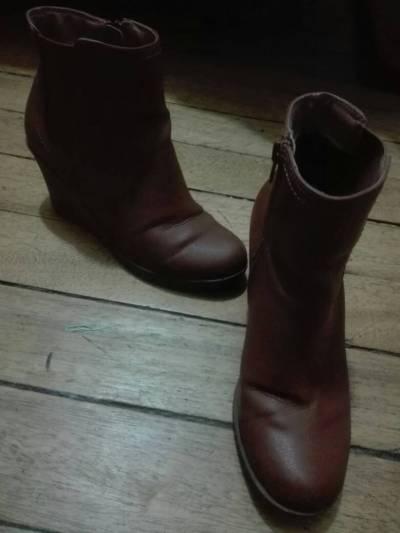 botas de color cafe # 37 marca MARIE CLAIRE
