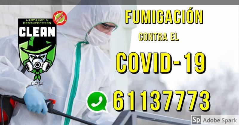 Fumigacion Y Desinfección Contra El COVID-19