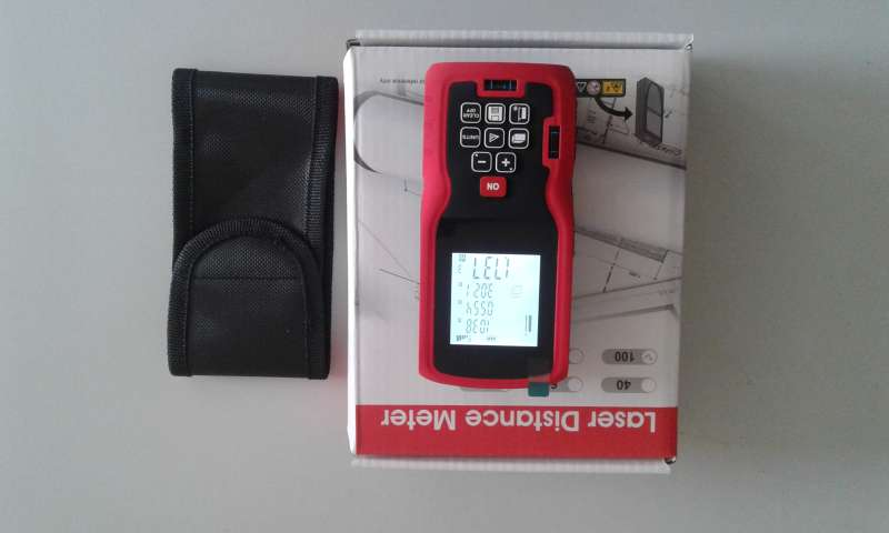 Medidor digital láser - telemetro