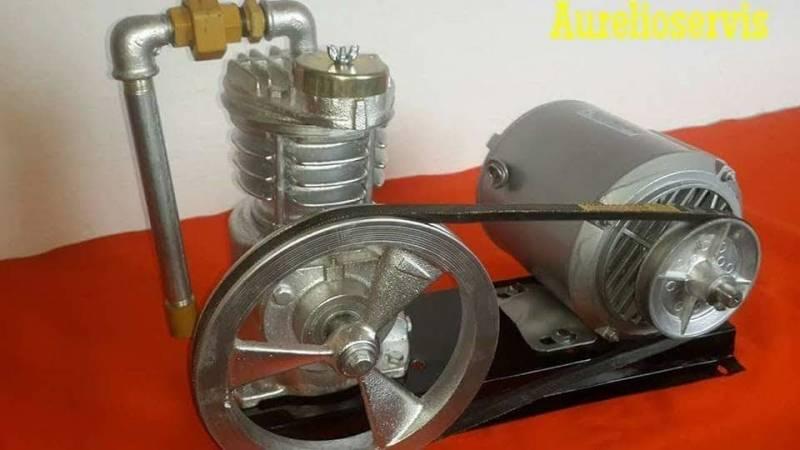Compresor con Motor