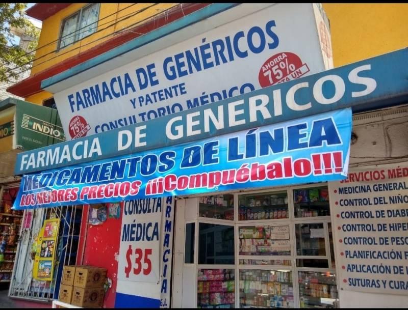 Solicitó empleado para atender mostrador de farmacia de gené
