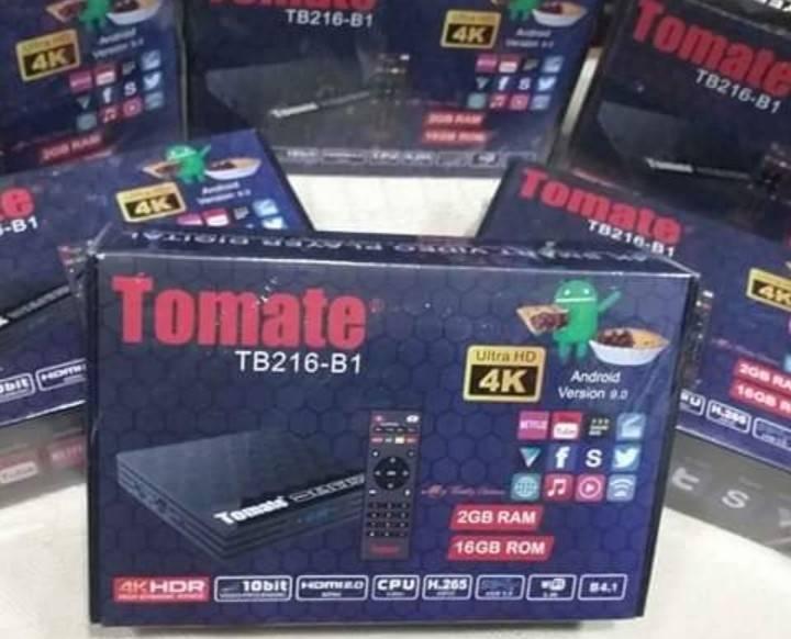 TV BOX MARCA TOMATE