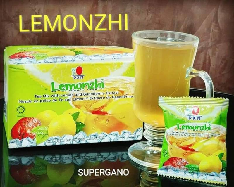 Limonada con Ganoderma