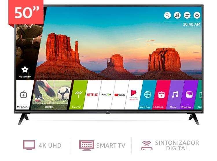 "televisor lg 50"" modelo 2018"