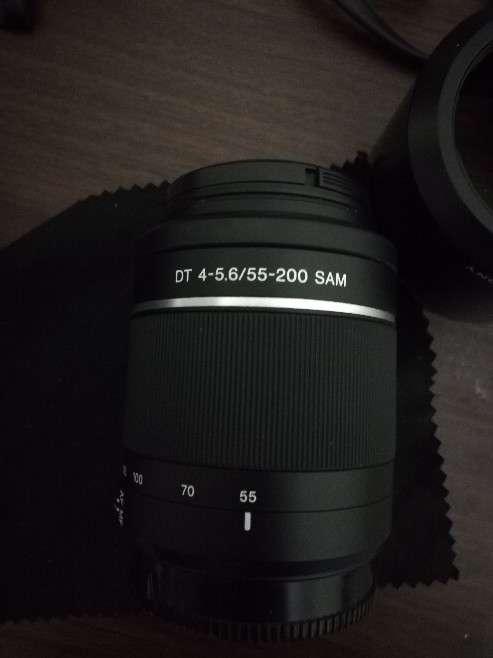 Cámara Sony Alfa 450