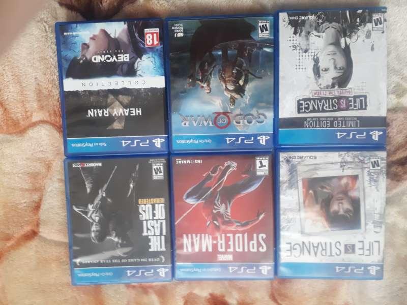 Juegos PS4 en buen estado 10/10 VENTA NO PERMUTO