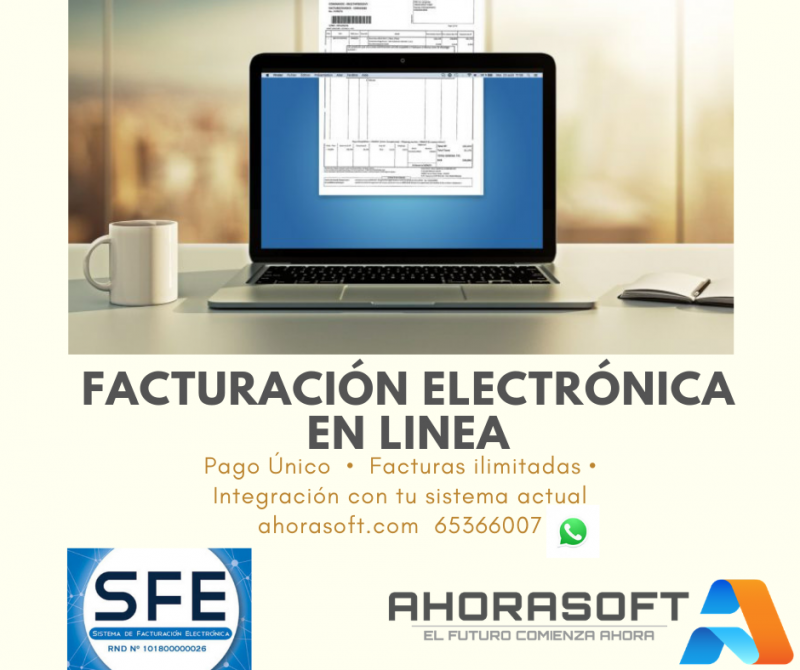 FACTURACIÓN ELECTRÓNICA Y COMPUTARIZADA EN LINEA
