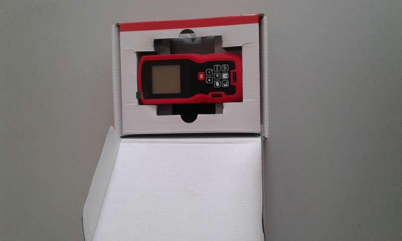 Instrumento de medición laser