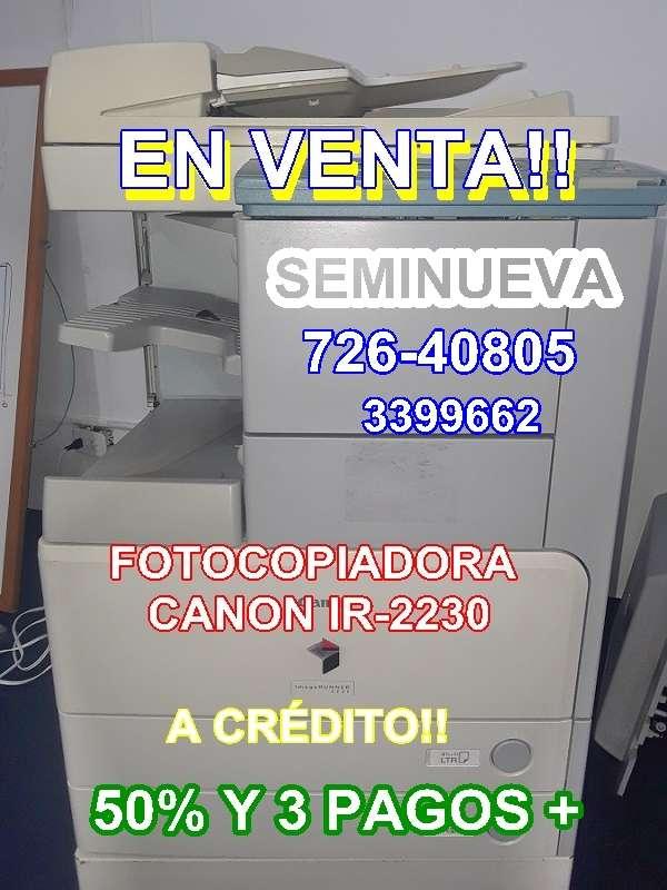 VENTA FOTOCOPIADORA SEMINUEVA - CANON IR-2230!