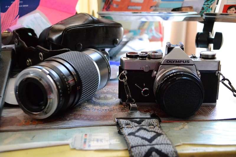 Cámara fotográfica analógica Olympus om-1 ¡De colección!